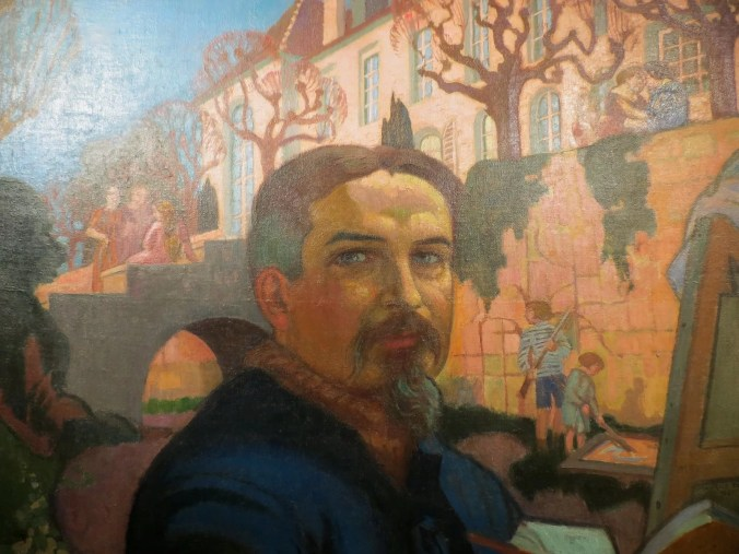 Maurice Denis Self Portrait Outside his home © All rights reserved by Grégoire Breault
