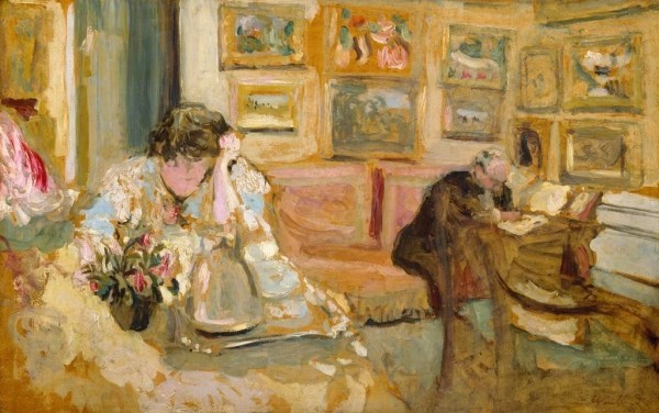Edouard Vuillard Paintings - Intimism