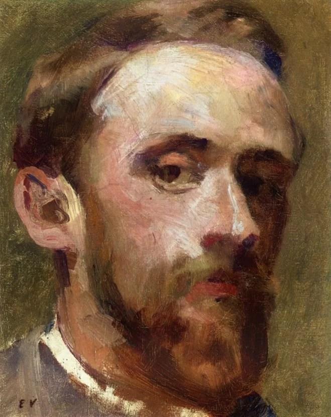 Edouard Vuillard Paintings - Self Portrait