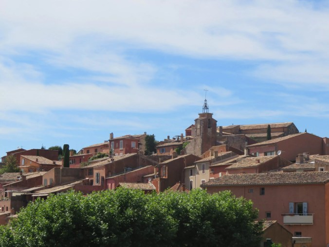 "Roussillon Provence the backdrop of ""Lisette's List"""