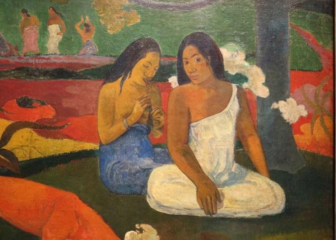 Paul Gauguin Painting from Tahiti