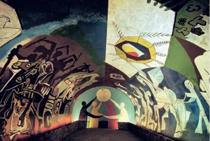 La Guerre et La Paix by Pablo Picasso,, Vallauris Picasso Museum