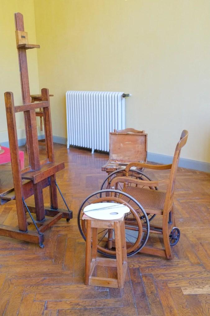Renoir's Painting Studio in Cagnes sur Mer