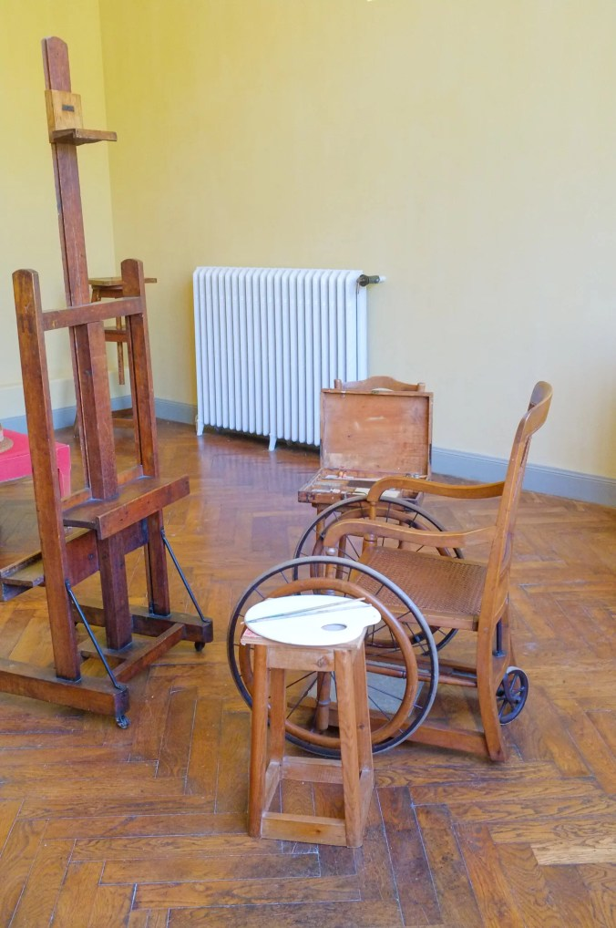 Musee Renoir - The artist's painting studio, Cagnes-su-Mer