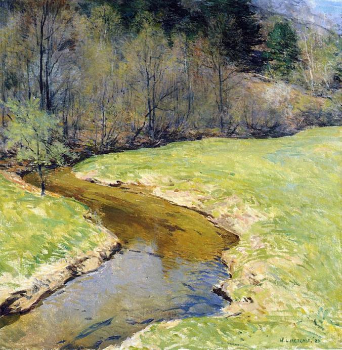 Willard Leroy Metcalf Impressionism Painting