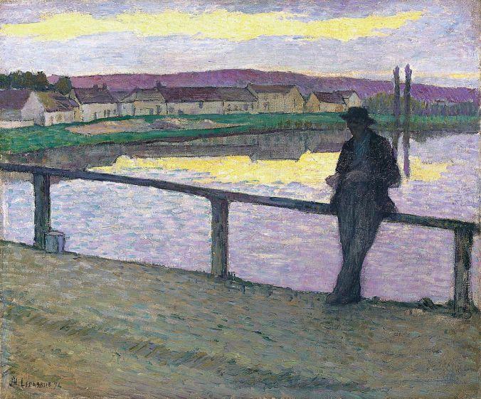 Henri Lebasque painting in Pont Aven