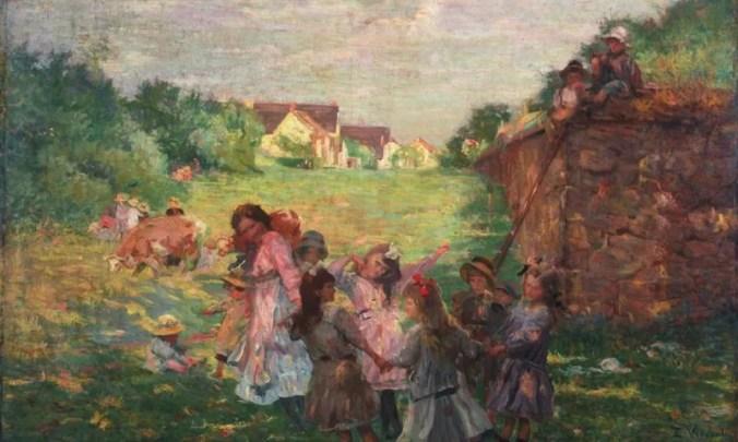 Eliseu Visconti Painting - Impressionism style