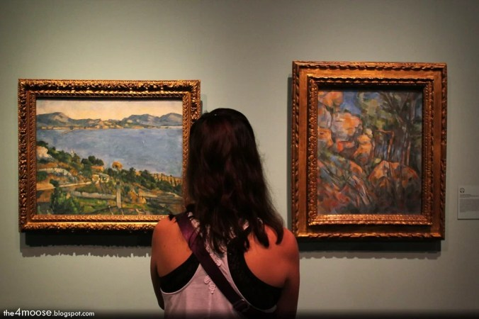 Exhibition of Paul Cezanne Artworks