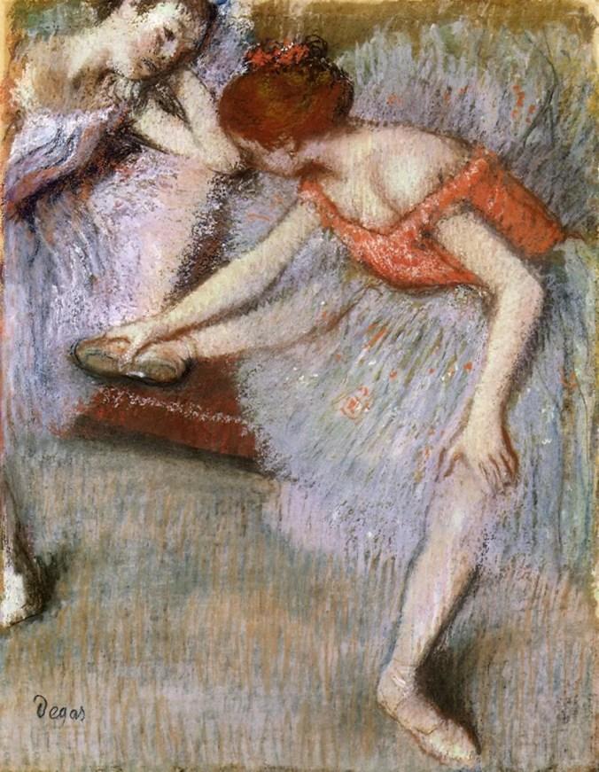Edgar Degas ballerinas