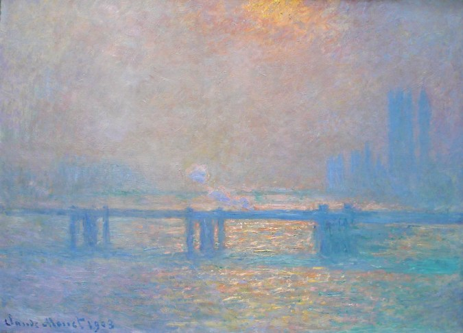 Claude Monet Series of Charing Cross Bridge London