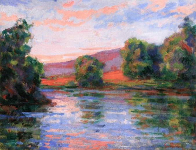 By The Water -  Armand Guillaumin Painting