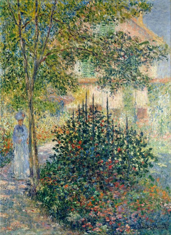 A Claude Monet painting of Camille (Doncieux) Monet