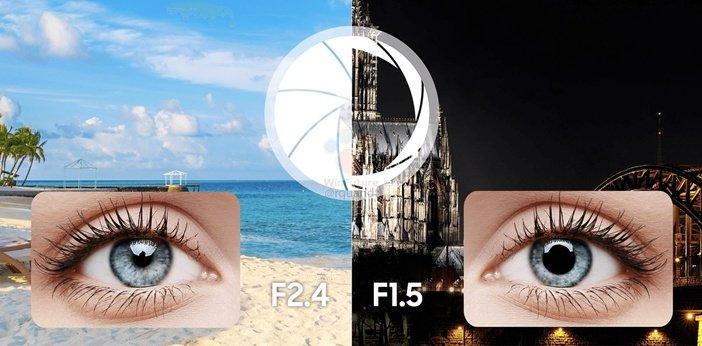 Диафрагма камеры Galaxy S9