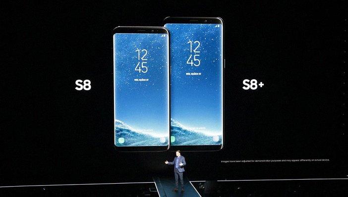 Смартфоны Galaxy S8 и S8+ бок о бок