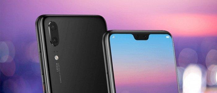 Вырез бровь экрана в Huawei P20 и P20 Lite