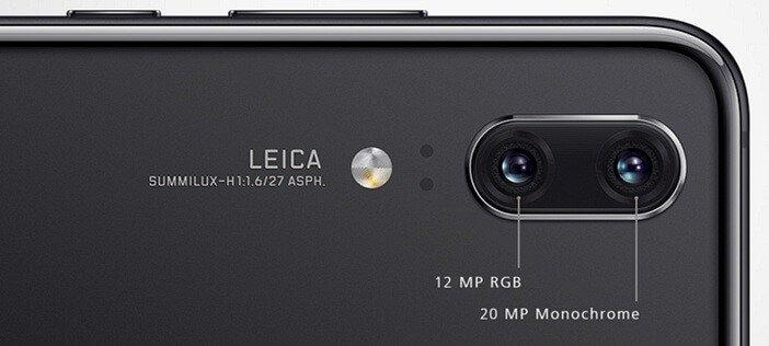Камеры Huawei P20