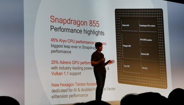 Производительность Snapdragon 855 против 845