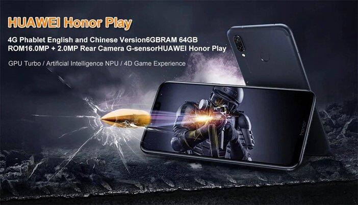 Honor Play для игр