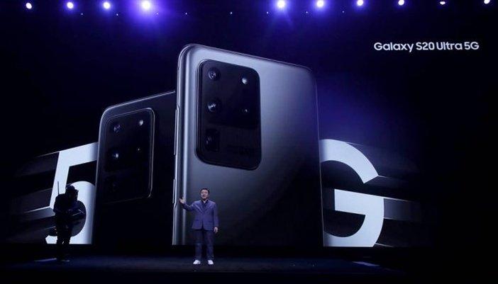 Презентация флагманской модели Galaxy S20 Ultra