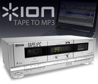 ION USB Cassette Deck
