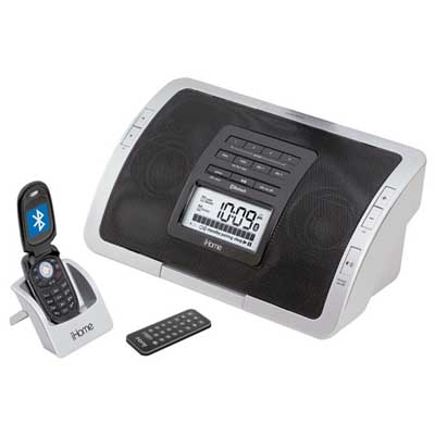Bluetooth Clock Radio Speaker System