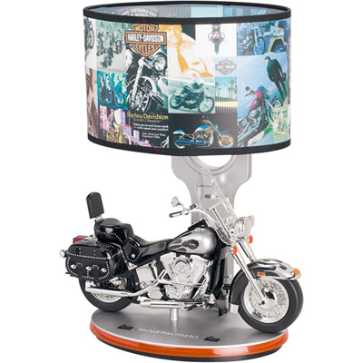 Harley Davidson Vroom Lamp - Perfect Replacement For Those Traditional Style Lampshades