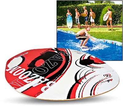 Skimboard Surfer