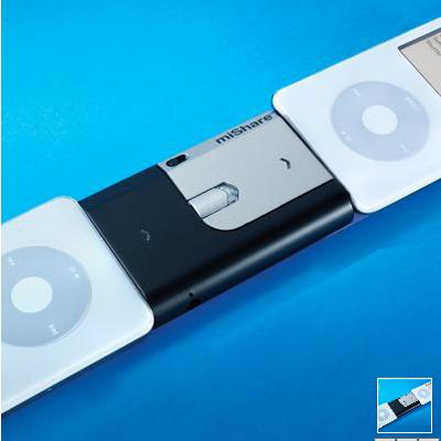 The iPod to iPod Transfer Device