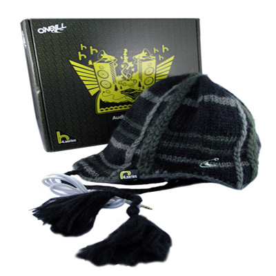 O'Neil Audio Beanie H4 With Built-in Sound