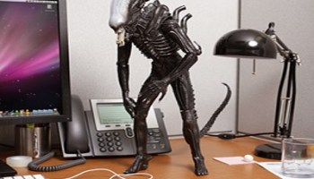 Terrifying Alien Figure