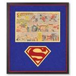 The Genuine 1940s Superman Comic Strip