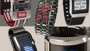5 Cool Looking and Functional Watches ideal for Modern Geeks