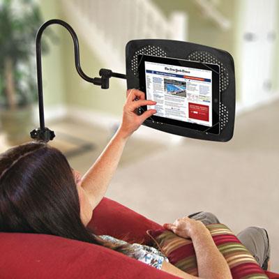 The iPad Adjustable Floor Stand