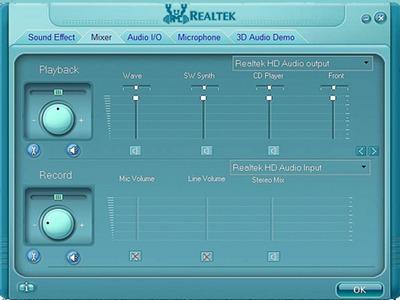 Realtek HD Audio to Record Sound