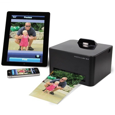 Photo Cube WiFi - The Wireless Smartphone Photo Printer