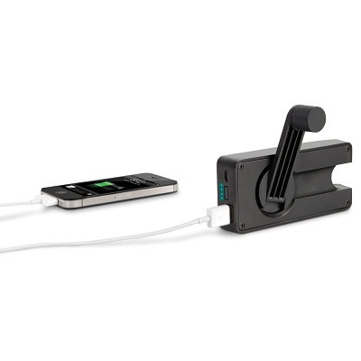 The Hand Crank Emergency Cell Phone Charger 1