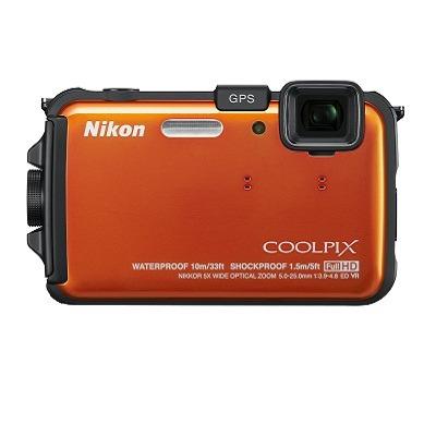 Nikon COOLPIX AW100 16 MP CMOS Waterproof Digital Camera