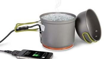 The Thermodynamic Cell Phone Charger