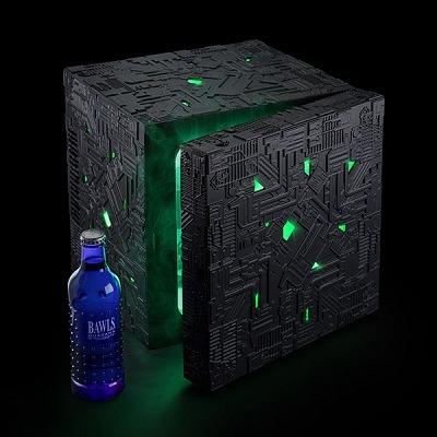 Star Trek Borg Cube Fridge 1