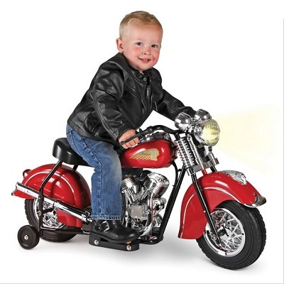 The Children's Electric 1948 Indian Motorcycle - A battery powered ride-on replica of the classic Indian Chief Motorcycle