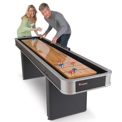 The Indoor Shuffleboard Table