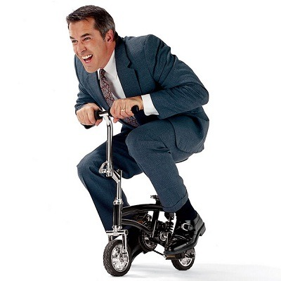 The Circus Clown Mini Bike