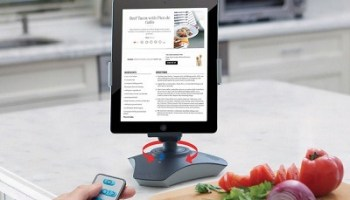The RC Rotating iPad Viewing Stand