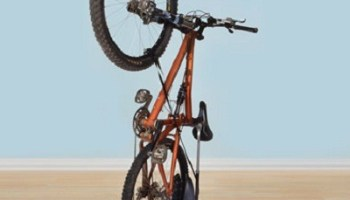 The Space Saving Upright Bike Stand