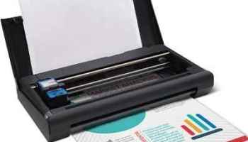 The Traveler's Full Page Portable Printer