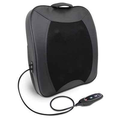 The Portable Shiatsu Deep Tissue Heat and Vibration Massage Cushion 1