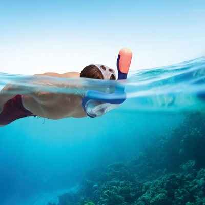 The Full Face Easy Breathing Snorkel Mask