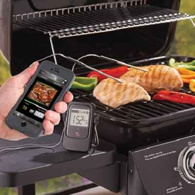 The Smartphone Alerting Barbecue Thermometer