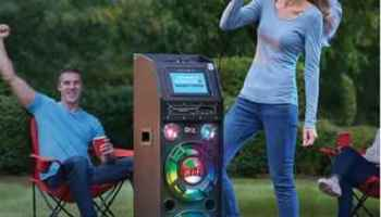 The Portable Wireless Karaoke Machine