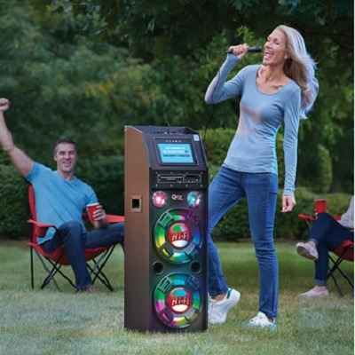 The Portable Wireless Karaoke Machine